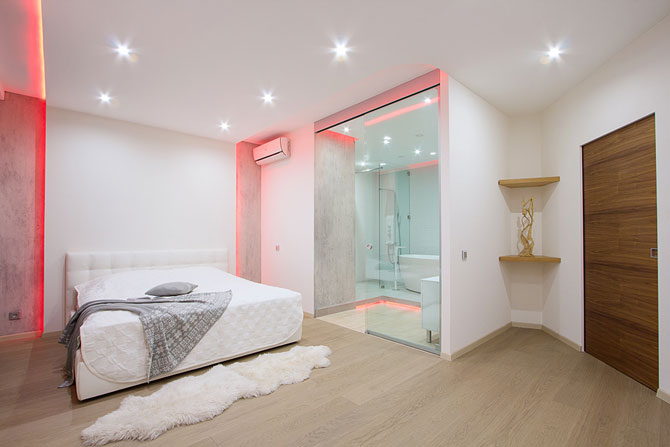 Apartament luminat elegant cu LED-uri la Sankt Petersburg - Poza 7
