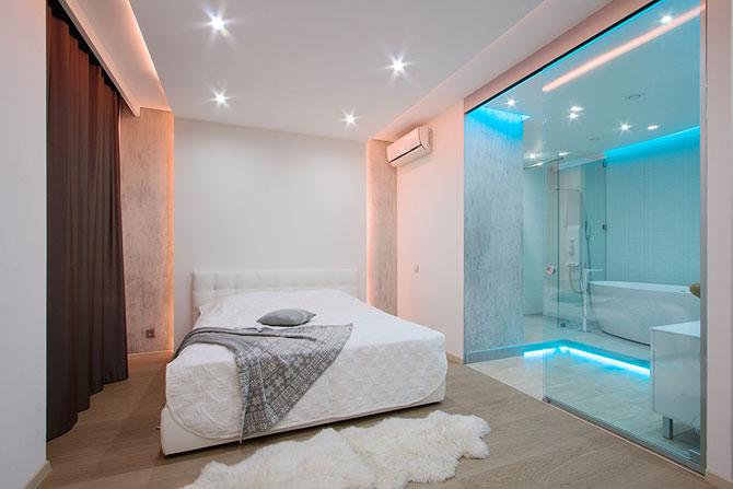 Apartament luminat elegant cu LED-uri la Sankt Petersburg - Poza 8