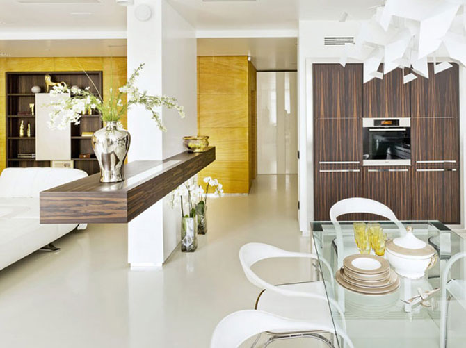 Apartamentul de Triumf in stil moscovit-minimalist - Poza 2