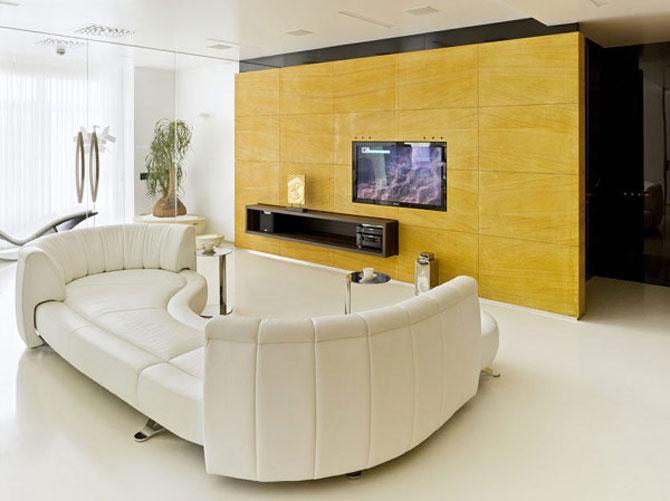 Apartamentul de Triumf in stil moscovit-minimalist - Poza 3
