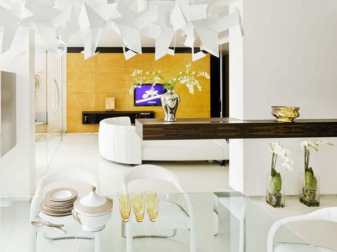Apartamentul de Triumf in stil moscovit-minimalist - Poza 6