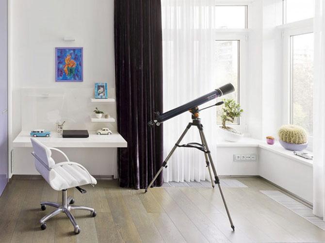 Apartamentul de Triumf in stil moscovit-minimalist - Poza 10