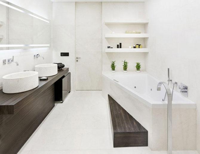 Apartamentul de Triumf in stil moscovit-minimalist - Poza 17