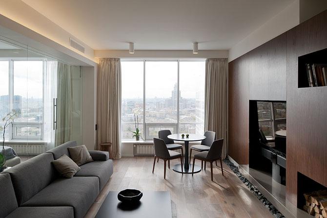 Apartament cu vedere panoramica la Moscova - Poza 1