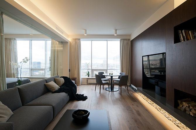 Apartament cu vedere panoramica la Moscova - Poza 3