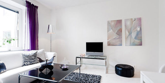 Apartament Suedia 44 mp