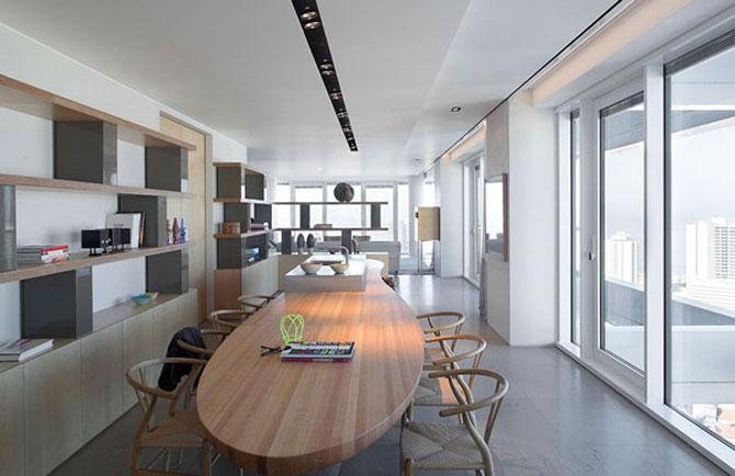Penthouse la Tel Aviv si galerie de arta contemporana - Poza 2