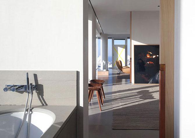 Penthouse la Tel Aviv si galerie de arta contemporana - Poza 5