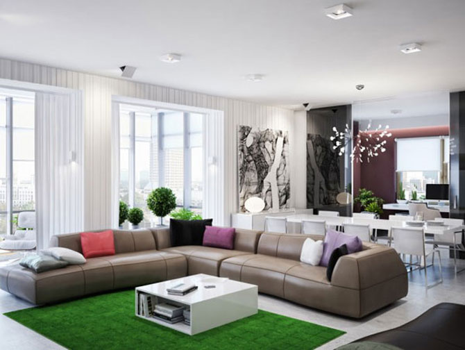 Apartamentul in care creste o padure, de Azovskiy Pahomova - Poza 1