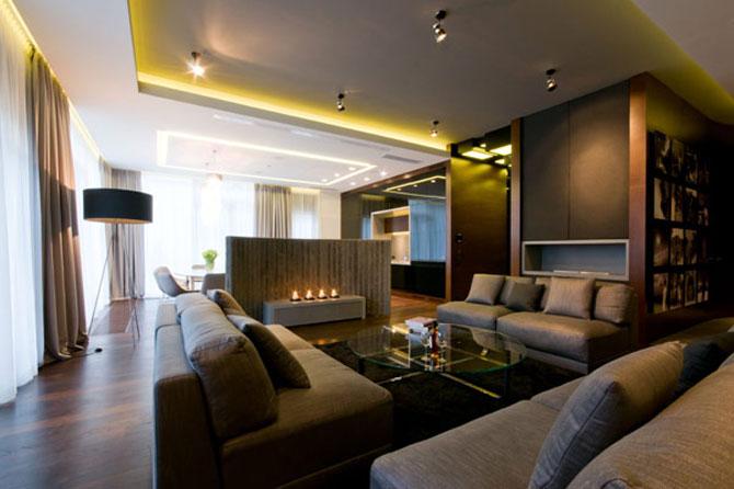 Apartamentul cu pereti cu personalitate, la Varsovia - Poza 1