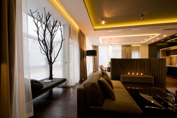Apartamentul cu pereti cu personalitate, la Varsovia - Poza 2