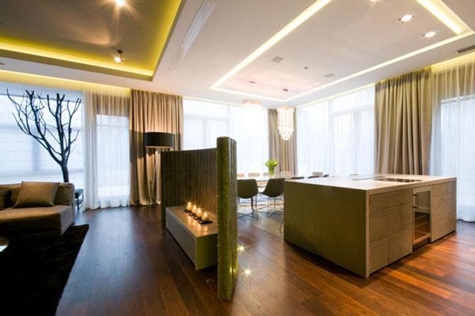 Apartamentul cu pereti cu personalitate, la Varsovia - Poza 3