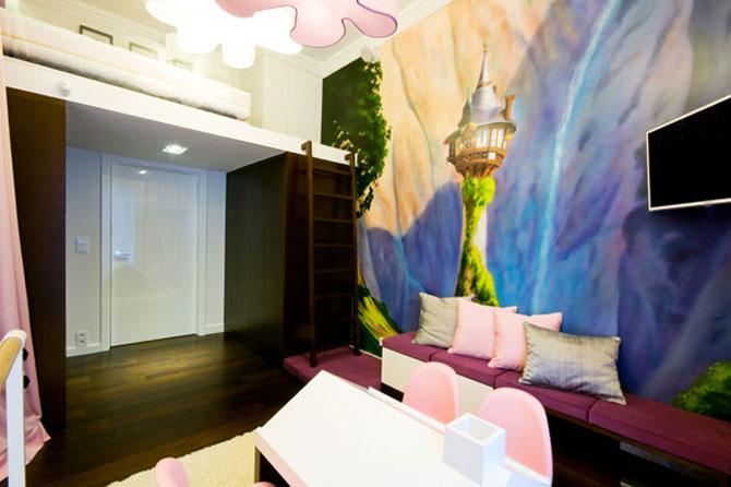 Apartamentul cu pereti cu personalitate, la Varsovia - Poza 9