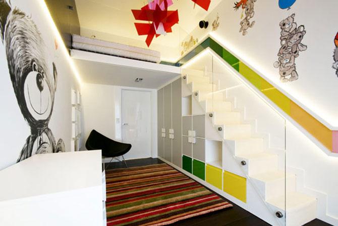 Apartamentul cu pereti cu personalitate, la Varsovia - Poza 10