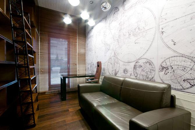 Apartamentul cu pereti cu personalitate, la Varsovia - Poza 11