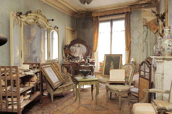 Lux la Paris - Apartamentul abandonat timp de 70 de ani - Poza 1