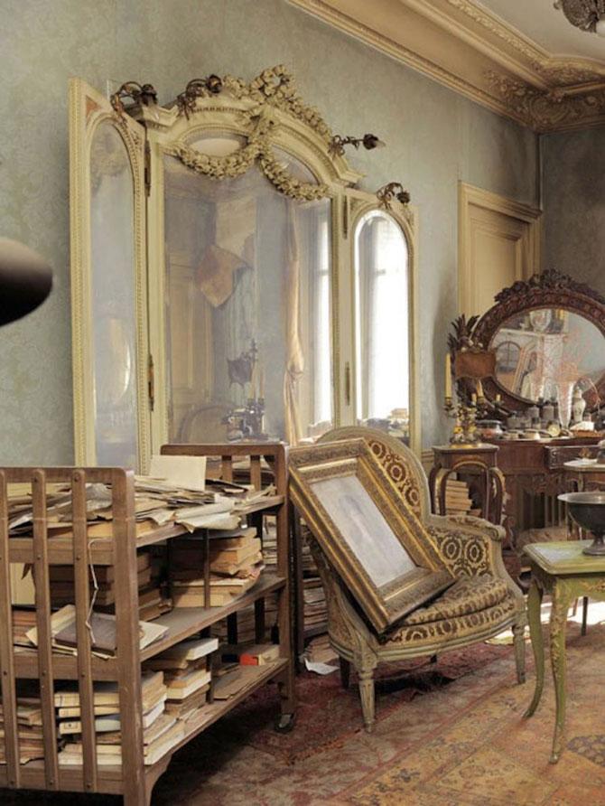 Lux la Paris - Apartamentul abandonat timp de 70 de ani - Poza 2
