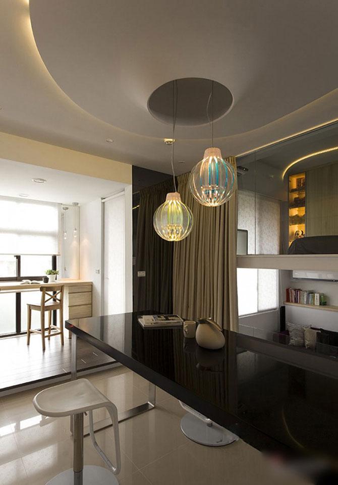Apartament mic, cochet, alb-negru - Poza 2