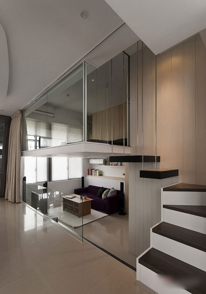 Apartament mic, cochet, alb-negru - Poza 4