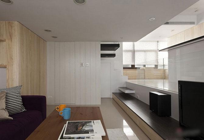 Apartament mic, cochet, alb-negru - Poza 8