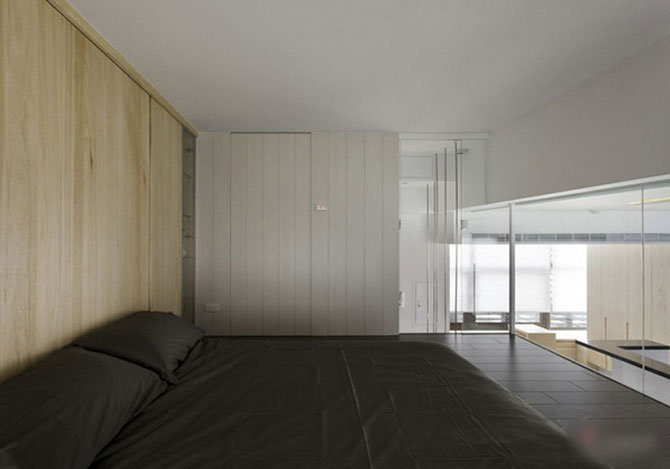 Apartament mic, cochet, alb-negru - Poza 10