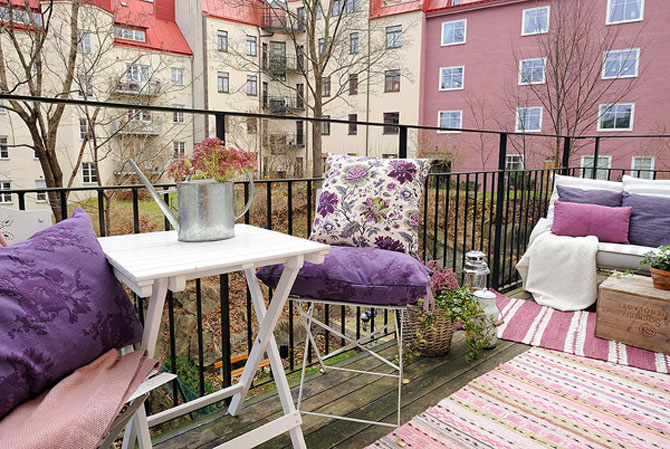 Un apartament ca un curcubeu pe fundal alb, in Suedia - Poza 11