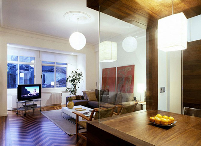 Apartament imbracat in caldura lemnului - Poza 2