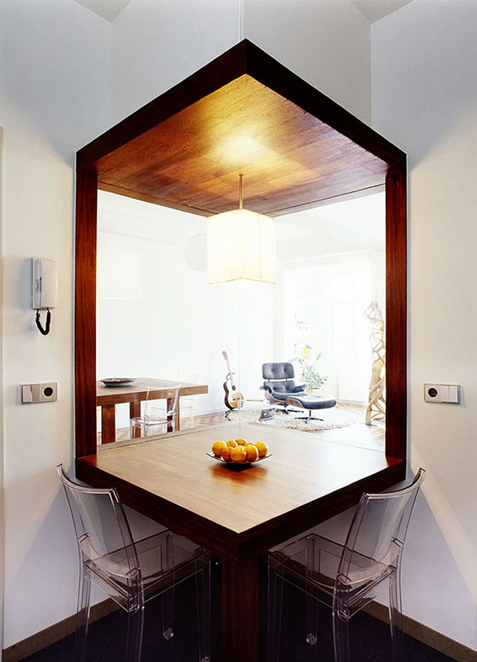Apartament imbracat in caldura lemnului - Poza 5