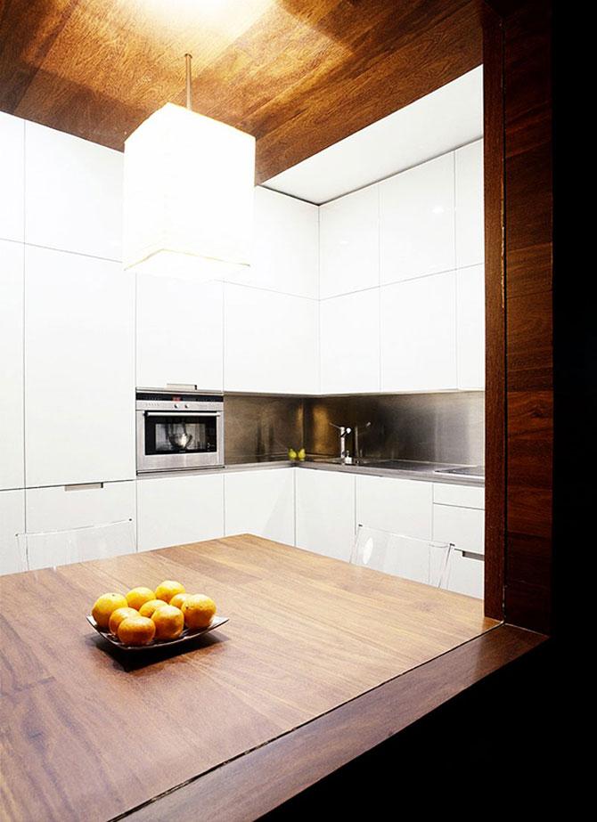 Apartament imbracat in caldura lemnului - Poza 6