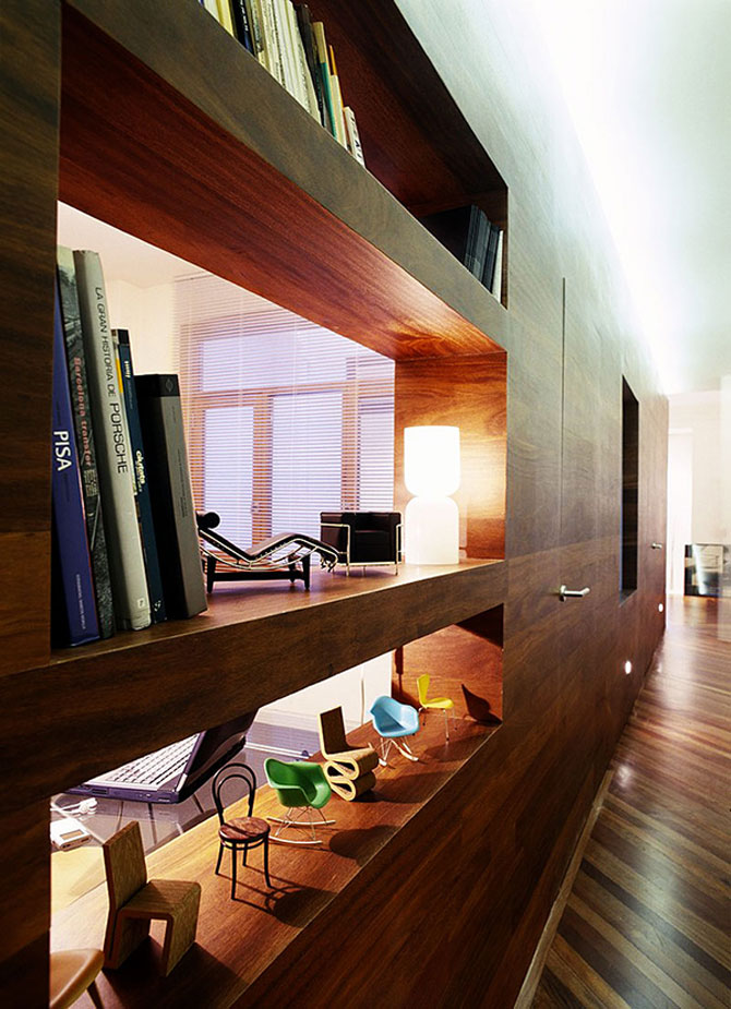 Apartament imbracat in caldura lemnului - Poza 7