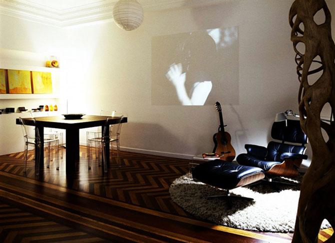 Apartament imbracat in caldura lemnului - Poza 8