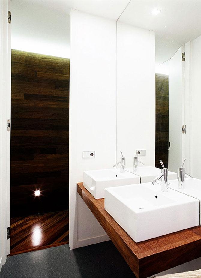 Apartament imbracat in caldura lemnului - Poza 11