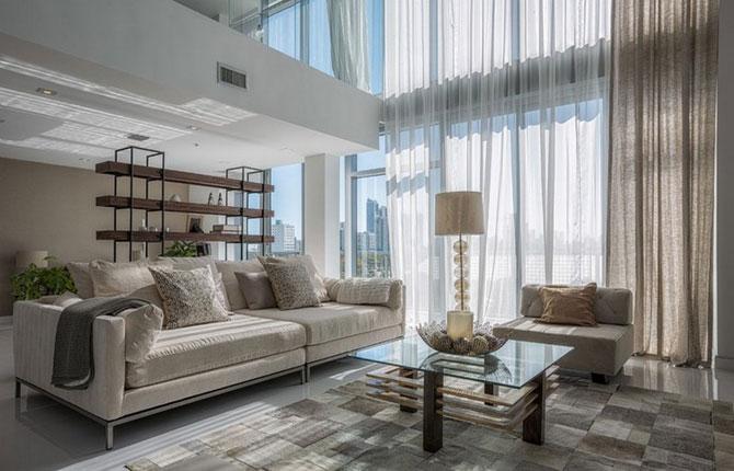 Duplex de lux la Miami, de Mila Design