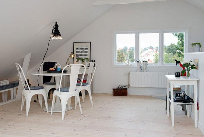 Mansarda cu lumina - 55 mp in Suedia - Poza 5
