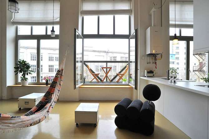 Mansarda creativa la Vilnius, in Lituania - Poza 2
