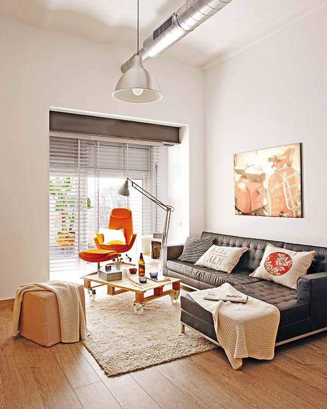Fiecare cm patrat de spatiu folosit: Apartament la Barcelona - Poza 1