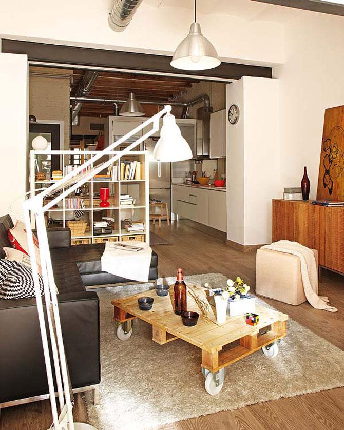 Fiecare cm patrat de spatiu folosit: Apartament la Barcelona - Poza 3