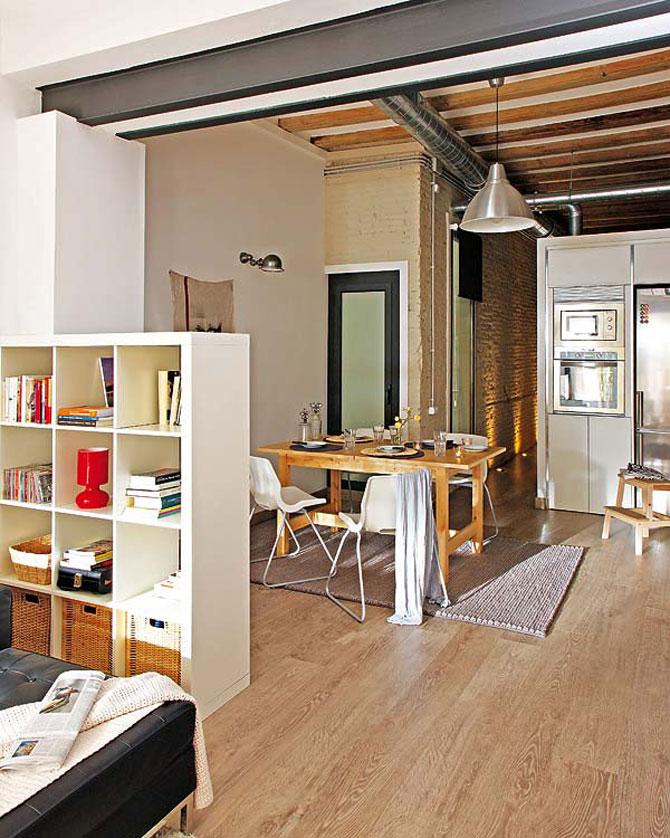 Fiecare cm patrat de spatiu folosit: Apartament la Barcelona - Poza 4