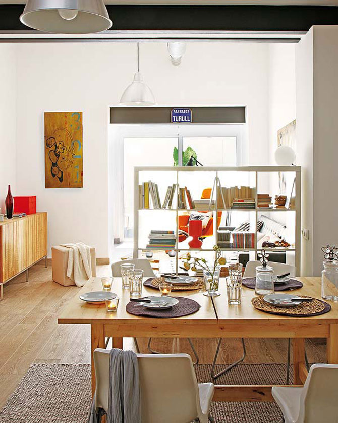 Fiecare cm patrat de spatiu folosit: Apartament la Barcelona - Poza 5