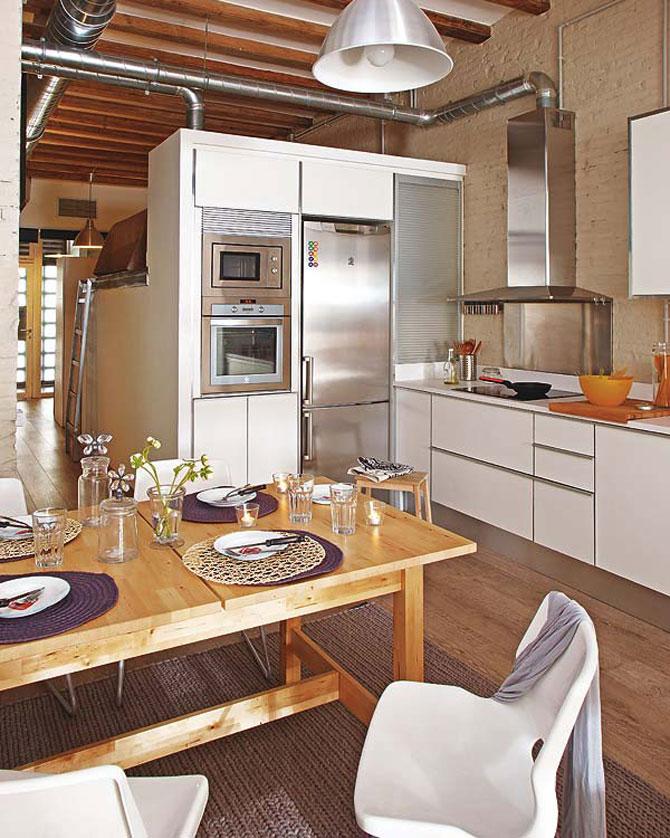 Fiecare cm patrat de spatiu folosit: Apartament la Barcelona - Poza 6