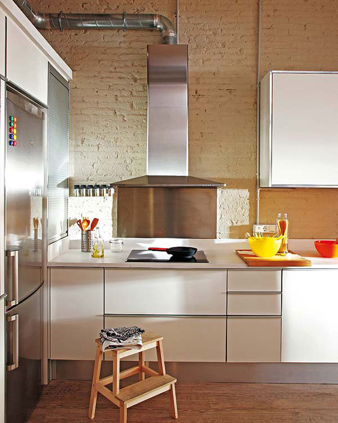 Fiecare cm patrat de spatiu folosit: Apartament la Barcelona - Poza 7