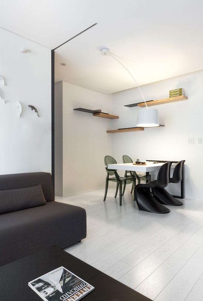 Apartament minimalist si minuscul in Taiwan - Poza 5