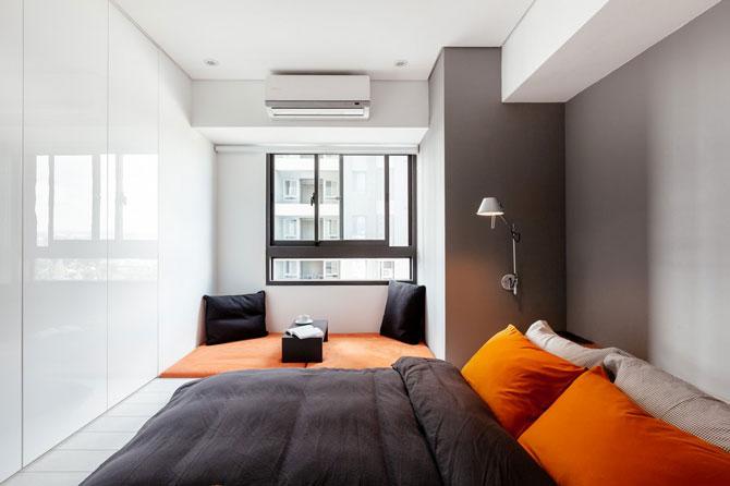 Apartament minimalist si minuscul in Taiwan - Poza 8