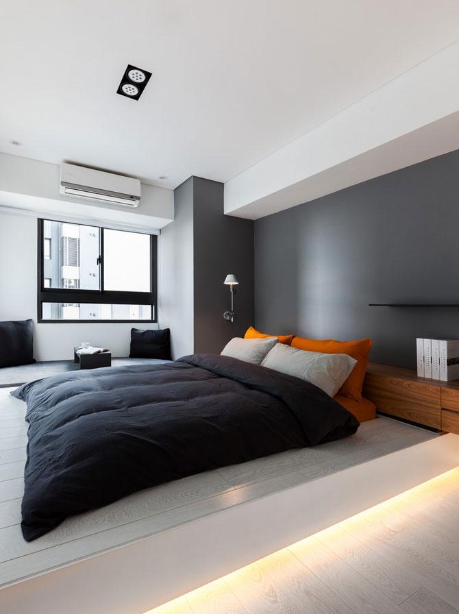 Apartament minimalist si minuscul in Taiwan - Poza 9