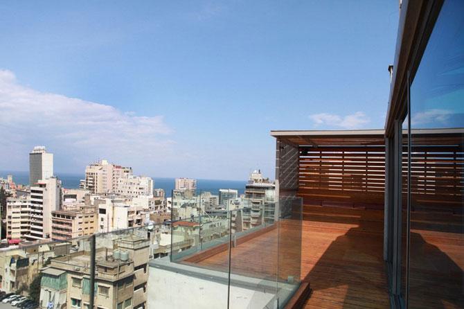 Apartament cu vedere la munte si mare in Beirut - Poza 2