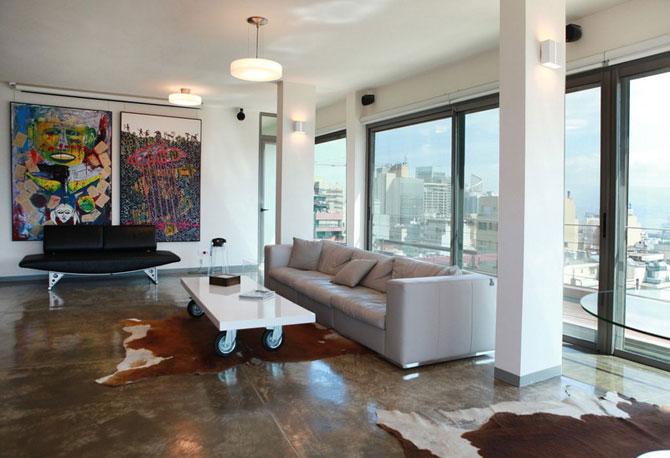 Apartament cu vedere la munte si mare in Beirut - Poza 6