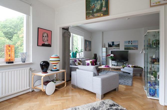 Patru camere cu personalitate in Goteborg - Poza 4