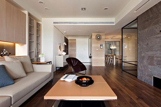 Apartamentul cu un perete mobil - Poza 1