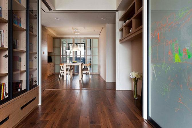 Apartamentul cu un perete mobil - Poza 10