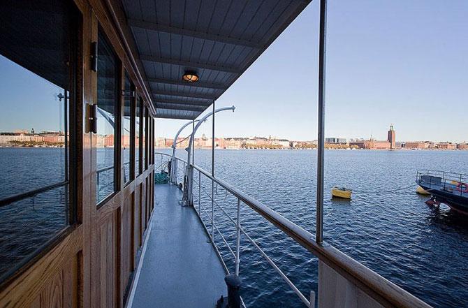 Eleganta unei locuinte lacustre la Stockholm - Poza 22